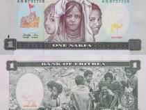 Lot 6 bancnote ERITREA 1997-2012 - unc