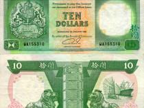 Lot 3 bancnote HONG KONG 1992-1996 - circulate