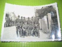 Ww2-3Reich-Grup militari germani 1945-foto mica 9/6 cm.