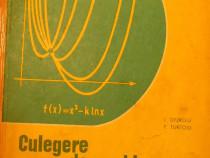 Culegere de probleme de matematica de I. Giurgiu, F. Turtoiu