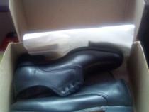 Pantofi noi cu eticheta, barbati, negri de piele naturala !