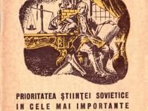 Prioritatea științei sovietice în cele mai importante descop