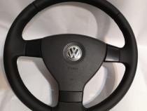 Volan Piele Noua 3 Spite VW Golf Passat Touran Tiguan Jetta