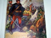 Ww1-CP-Militari austrieci cu steag contra rusilor anii 1916.