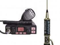 K-PO K-500 Statie Radio CB + Sirio Performer 2000 Antena CB