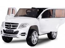 Masina electrica Mercedes GLK300 2x 35W 12V #Alb