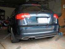 Difuzor prelungire bara spate Audi A3 8P Coupe Sportback v5