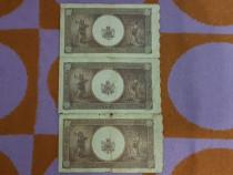 Raritate.3 buc.10.000 lei,1945-1946