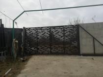 Porti metalice din tabla groasa decupata