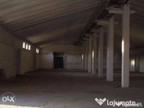 Inchiriez hale depozitare in total 2500 m2 Motoseni, Bacau