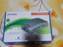 Pc tv convertor .ideal pentru tv calculator si conversie