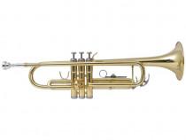 Trompetă acordată în Bb, alamă galbenă cu(70048)