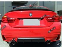 Prelungire lip buza evcuare bara spate BMW F32 Seria 4 v2