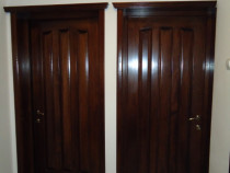 Usi de interior si exterior lemn masiv