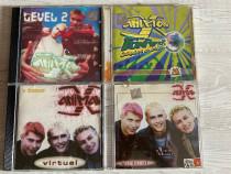 LOT 4 cd-uri Animal X (pop-dance)(vechi si RARe)(stare buna)