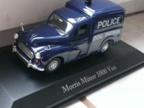 Macheta Morris Minor 1000 Van (1960) Politia - Atlas 1/43