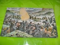 A125-WW1-1916-Ilustrata veche-Armata maghiara Doberdo.