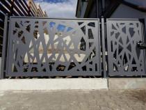 Garduri, porți, panouri decorative, balcoane, balustrade,