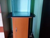 Acvariu cub 90L+capac si stand