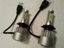 Becuri LED H7, 2 bucati, produs nou, 9006