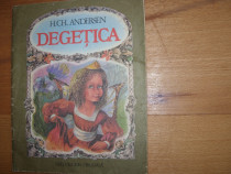 H. Ch. Andersen - Degetica ( 1984, ilustratii Doina Botez )*