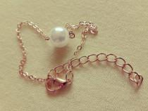 Brățară femei gold imitație perle