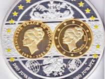 A182-UNC-Medalie Grace Kelly Monaco Europa 1982-2012 Deo J.