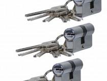 3 bucati - Butuc pentru usa egal cu 5 chei in amprenta 60mm