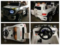 Masinuta electrica pentru copii Mercedes G-Force 12V #ALB