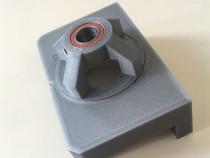 Sablon mobila din plastic dur gri pentru balamale 35mm