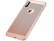 Husa Telefon Plastic Apple iPhone XR 6.1 Mesh Rose Gold NOU