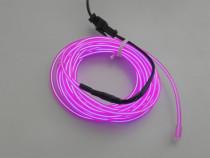 Fir luminos El Wire - Culoare purple - USB 5V