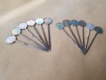 Set 12 betisoare / tacamuri argintate pentru aperitive