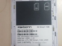 Display cu touchscreen Karbonn k9