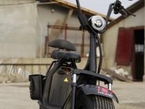 Scuter Electric City CoCo 1000W cu 2 locuri #Negru matt