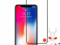 Folie sticla securizata iPhone XS Max, full body 3d, tempere