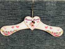 Umeras personalizat cu numele copilului tau-handmade