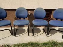 4 scaune fixe Steelcase.