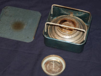 Spirtiera Metaloglobus, peimus voiaj, aragaz portabil
