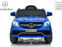 Masina electrica Mercedes GLE63S 2x22W 12V cu Roti Eva, USB