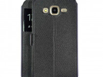 Husa Flip Book S-View Samsung Galaxy S8 g950 Fashion Black