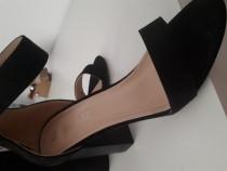 Sandale toc gros