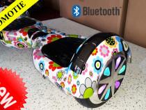Hoverboard electronic Flower 1000w Telecomanda+Geanta cadou