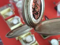 Ceas de buzunar cu calendar posibil unicat din argint antic