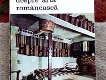 Scrieri despre arta, Al. Tzigara-Samurcas, 1987