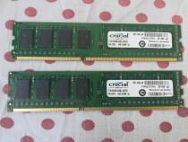 Kit Dual Chanel Memorie Ram Crucial 8 GB (2X4) DDR3 1600Mhz