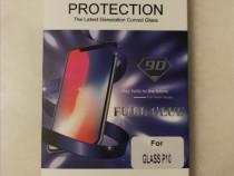 Folie sticlă securizată Huawei P10 (full cover,contur negru)
