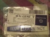 Ornament,emblema Mercedes Blue Efficiency
