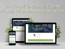 Servicii de gazduire, creare, optimizare si administrare web