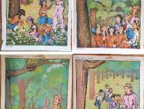 """Colectie 4 Afise Vechi Perioada Comunista - """"O fapta buna"""""""
